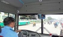 Camera trên ô tô phải quan sát được tài xế và khoang hành khách