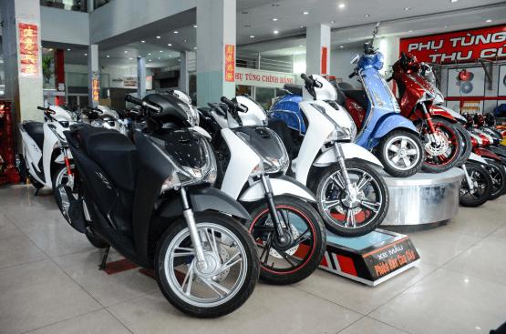 Các loại thuế khi mua xe máy mới