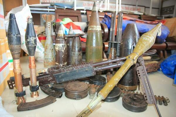vật liệu nổ được sản xuất sử dụng tại Việt Nam