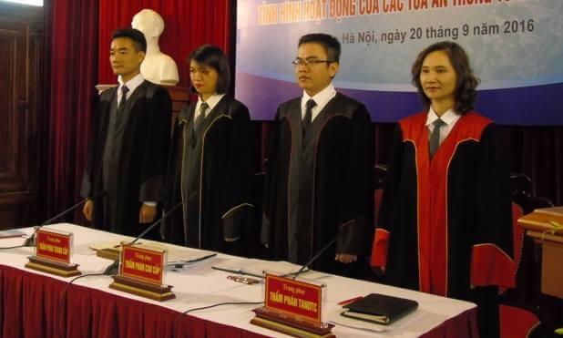 chuẩn mực đạo đức của thẩm phán
