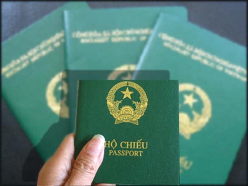 cấp hộ chiếu phổ thông qua mạng