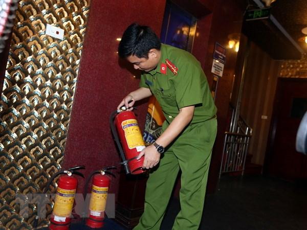phòng cháy chữa cháy quán karaoke