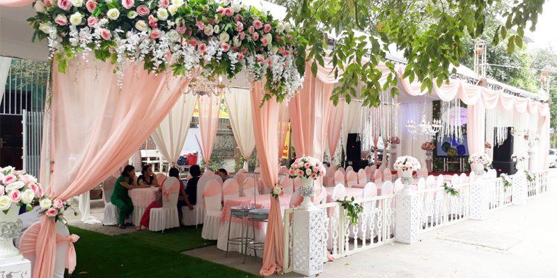 quy định tổ chức đám cưới