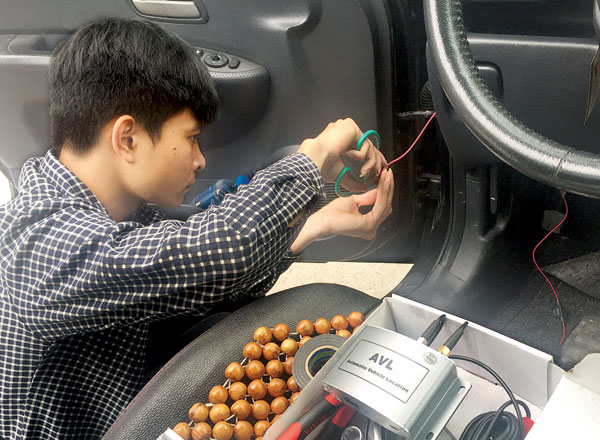 camera giám sát lái xe