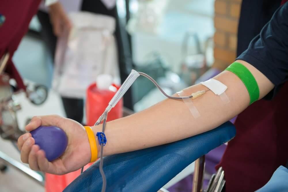 chế độ cho người hiến máu