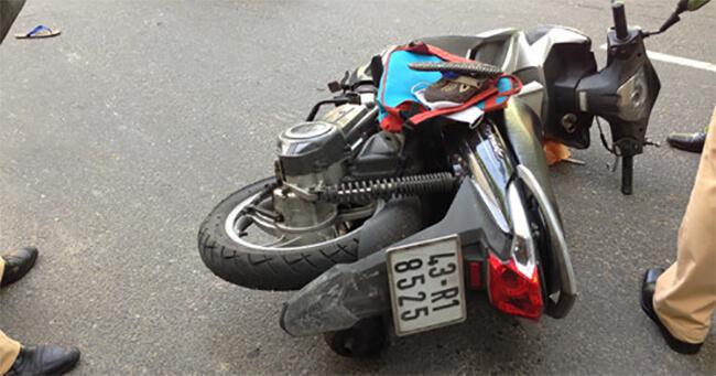 Bị tạm giữ xe máy do gây tai nạn giao thông phải làm sao?