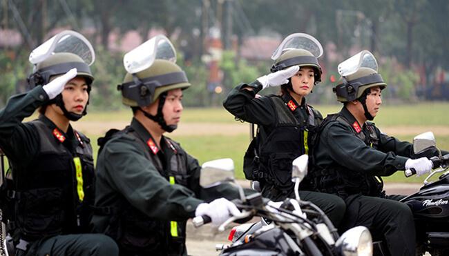 Cảnh sát cơ động được phạt những lỗi vi phạm giao thông nào?