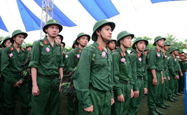 Quyền lợi được hưởng khi tham gia nghĩa vụ quân sự