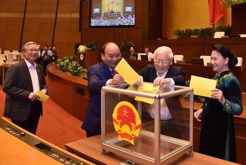 bầu Chủ tịch nước mới