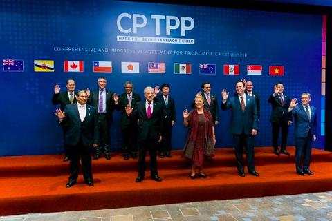 Hiệp định đối tác xuyên Thái Bình Dương CPTPP