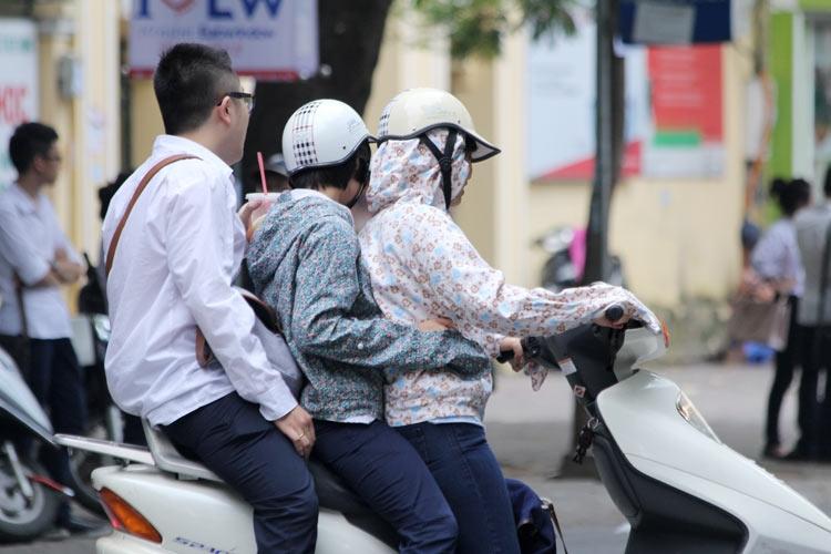 mức phạt vi phạm giao thông xe máy