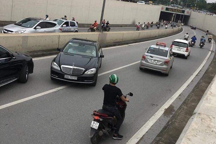 mức phạt vi phạm giao thông ô tô